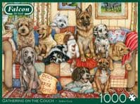Gathering on the Couch - 1000 Pieces |Yorkshire Jigsaw Store